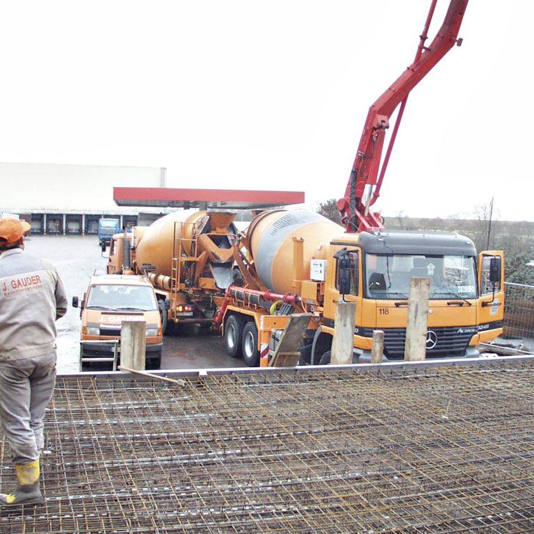 Gauder-bau-stuttgart-Hochbau Neubau Gewerbe Entsorgungsanlage REWE 02.2003-03