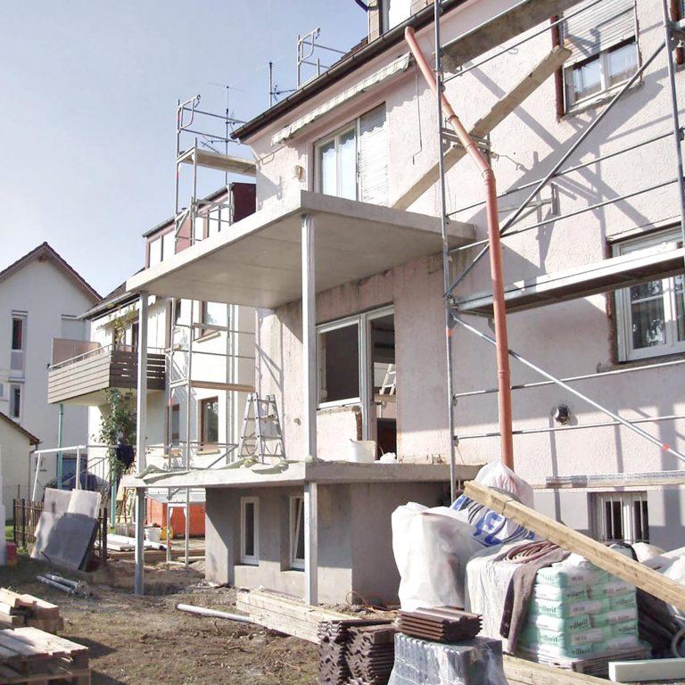 Gauder-bau-stuttgartHochbau Balkonneubau Sichtbeton Bublick Degerloch 11.2007-05