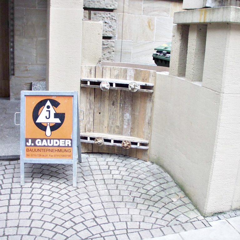 Gauder-bau-stuttgartSanierung Betonmauer Schweizer Stuttgart 03.2003-01